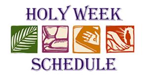 Holy Week – Live